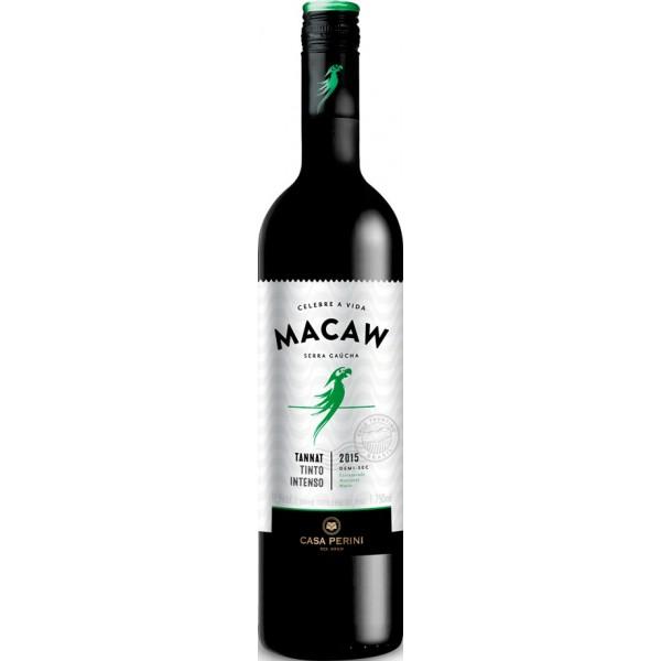 Vinho Macaw Tinto Tannat Demi-Sec 750ml