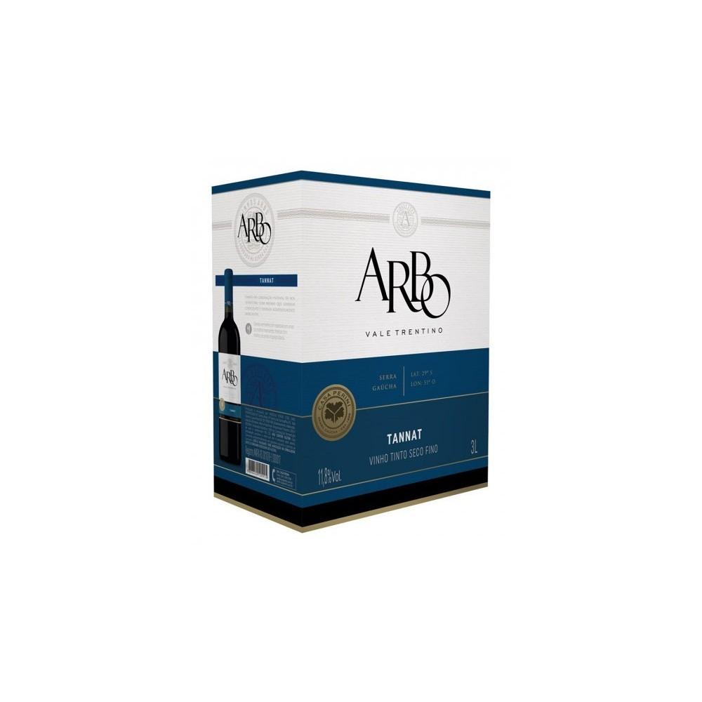 Vinho Arbo Tannat Bag in Box 3L