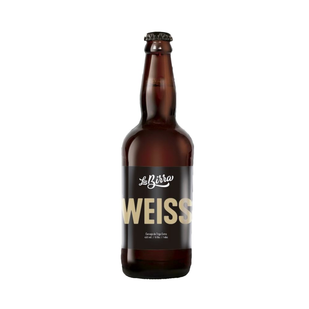 Cerveja La Birra Weiss 500ml