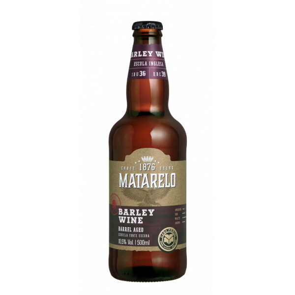 Cerveja Matarelo Barley Wine 500ml