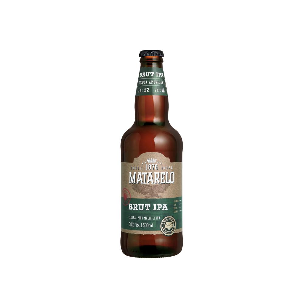 Cerveja Matarelo Brut IPA 500ml
