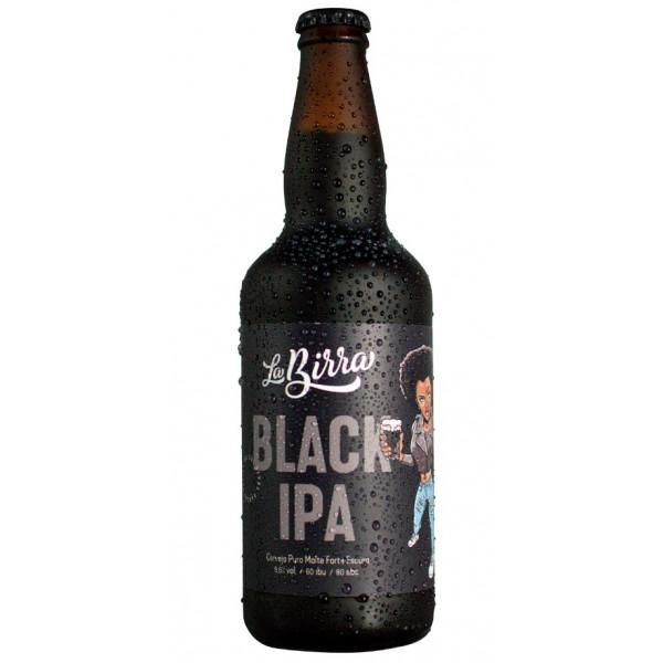 Cerveja La Birra Black IPA 500ml