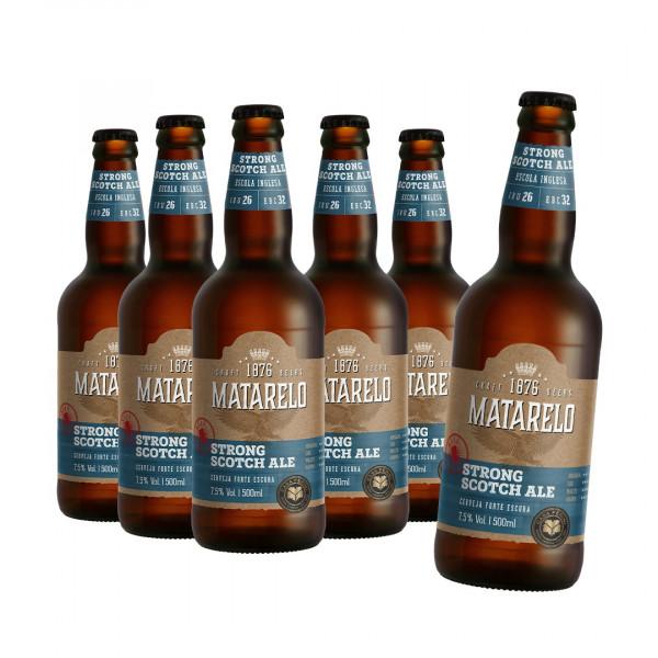 Compre 5 Leve 6: Cerveja Matarelo Strong Scotch Ale 500ml