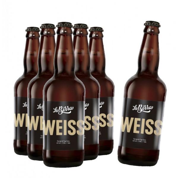 Compre 5 leve 6: Cerveja La Birra Weiss 500ml