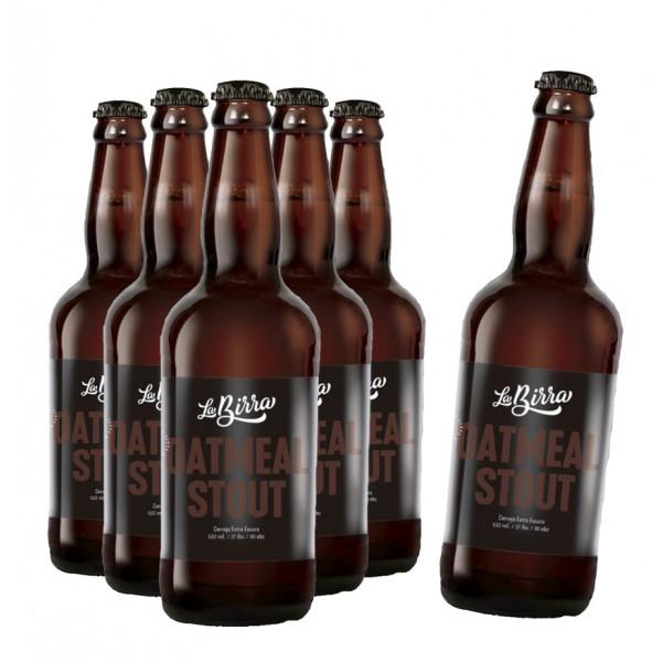Compre 5 leve 6: Cerveja La Birra Oatmeal Stout 500ml