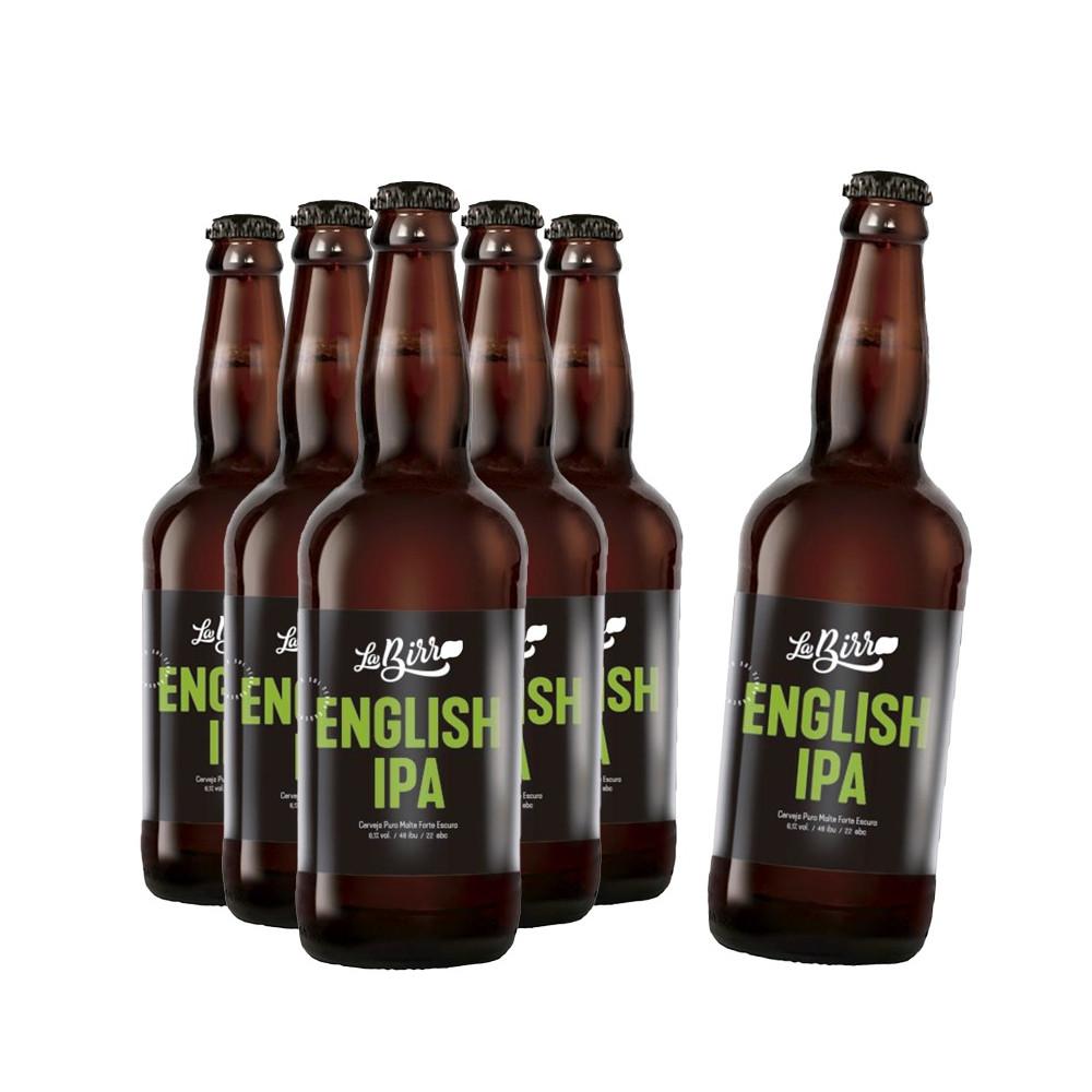 Compre 5 leve 6: Cerveja La Birra English IPA 500ml