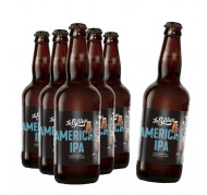 Compre 5 leve 6: Cerveja La Birra American Ipa 500ml