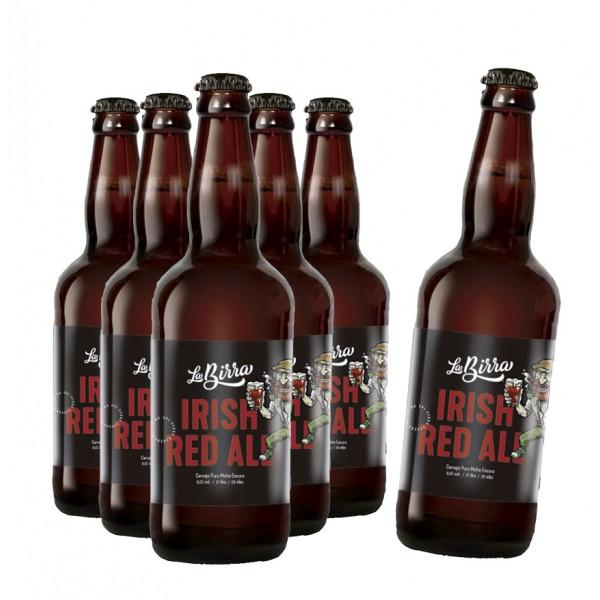 Compre 5 leve 6: Cerveja La Birra Irish Red Ale 500ml