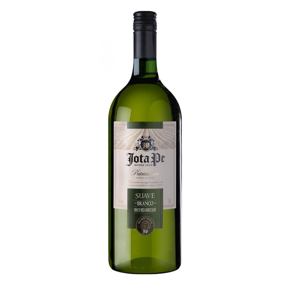 Vinho Jota Pe Branco Suave 1,5L